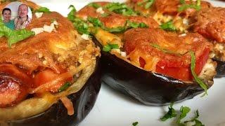 видео Баклажаны, запеченные с сыром в духовке