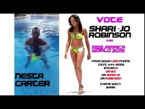 Nesta Carter for Shari Jo Miss Jamiaca World 2015