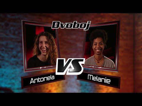 "Antonela vs. Melanie: ""I Follow Rivers"" - The Voice of Croatia - Season1 - Battle3"