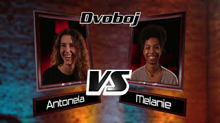 "Antonela vs. Melanie: ""I Follow Rivers"" - The Voice of Croatia - Season1 - Battle3"