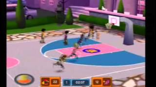 Backyard Basketball 07 PS2 gameplay