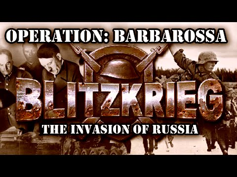 "Blitzkrieg. German Campaign. Mission 5 ""The Invasion of Russia"""