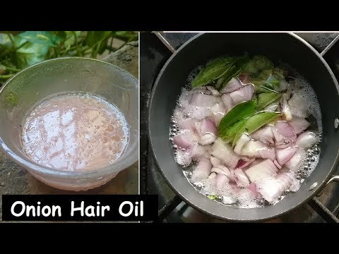 She used Onion Hair Oil for 1 Week & turned Thin Hair to Thick Hair - Fast Hair Growth & Long Hair