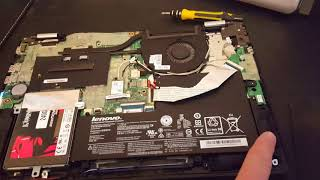 Easy Fix Easy Fix Lenovo Laptop Flashing Power Light Will Not Power Up - Disassembly