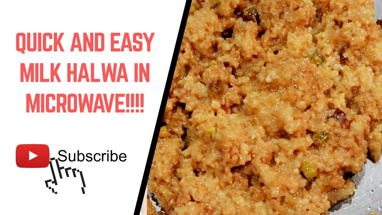 How To Make Semi Homemade Milk Halwa Using Condensed Milk