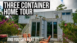 3 Shipping Container Home Tour | Jupiter, Florida | Available For Rent
