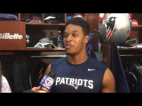 New England Patriots CB Eric Rowe is excited to play in the Super Bowl