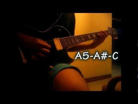 edane kau pikir kaulah segalanya +kunci /kord gitar (guitar cover)