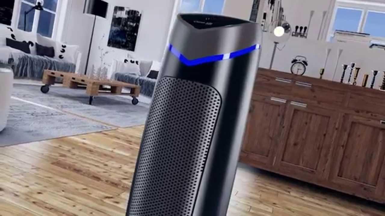 purificateur d air filtre hepa et ioniseur ca 506 youtube. Black Bedroom Furniture Sets. Home Design Ideas
