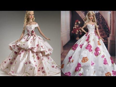 Gorgeous Gowns Barbie Doll Dresses / Easy Barbie Tutu Dress &4