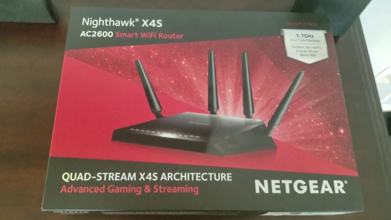 Nighthawk X4S R7800 Review