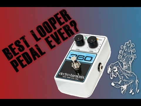 Best looper pedal ever? the EHX 360 looper pedal
