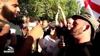 P2 - Tommy Robinson Supporters/EDL Vs Muhammad Hijab & Ali Dawah   | Speakers Corner | Hyde Park