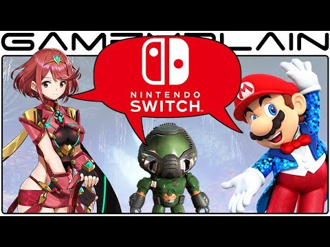 Nintendo Holiday Preview Event: Xenoblade Chronicles 2, Mario Party Top100, Doom, More! - DISCUSSION