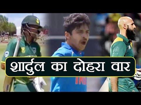 India vs South Africa 6th ODI: Markram OUT for 24, Shardul Picks His Second | वनइंडिया हिंदी