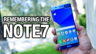 Remembering the Galaxy Note7: the best phone of 2016?