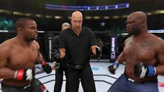 DANIEL CORMIER vs DERRICK LEWIS - UFC 230 СИМУЛЯЦИЯ БОЯ в UFC 3