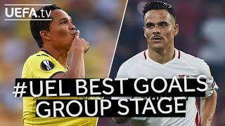 BACCA, ROQUE MESA: #UEL Group Stage BEST GOALS!!