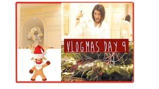 Pronovias & Decoración del árbol de Navidad | Vlogmas 9 Thumbnail