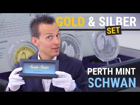 Perth Mint Schwan