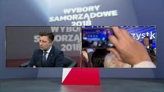 WIECZÓR WYBORCZY - MICHAŁ DWORCZYK (kancelaria Premiera) - PiS wygrywa wybory!