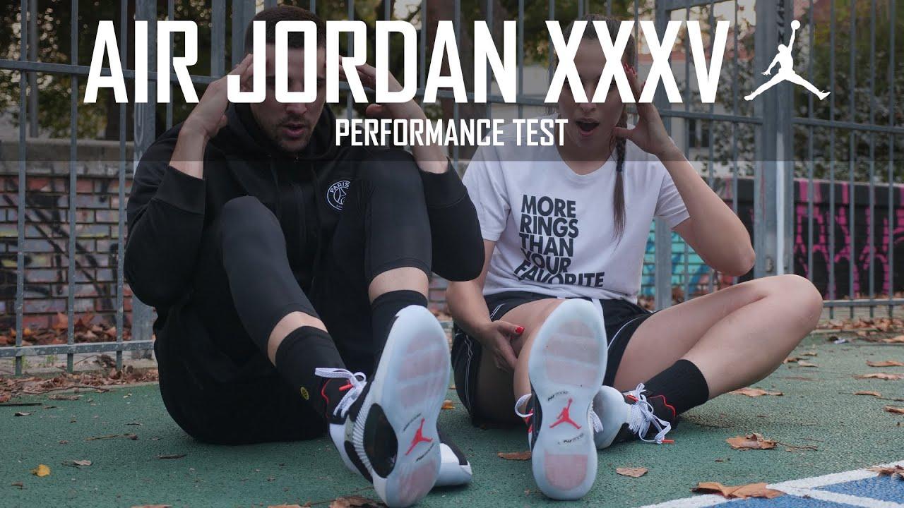 ¡¡LO ÚLTIMO DE MICHAEL JORDAN, NO DAMOS CRÉDITO!! AIR JORDAN 35 - PERFOMANCE TEST