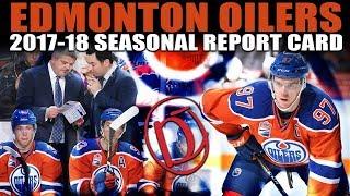 Edmonton Oilers Seasonal Report Card (2017-18)