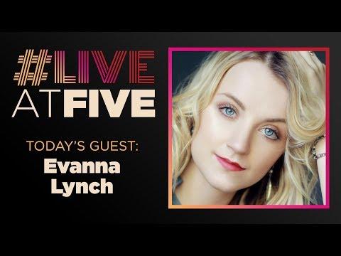 Broadway.com LiveatFive with Evanna Lynch of DISCO PIGS