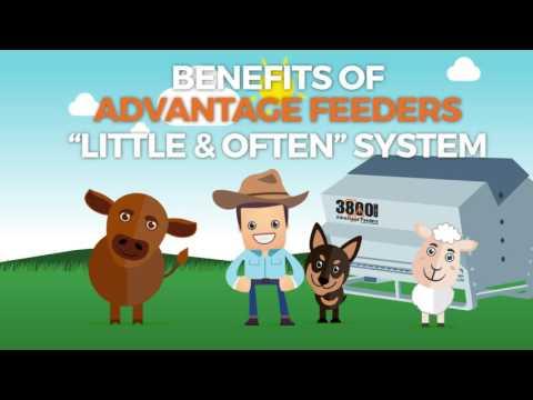 Advantage Feeders 3 Way Adjustment Feeding System