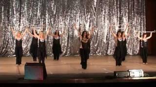 Восточный танец с тростями