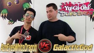 Duel Dash: Azneyeswhitedragon vs GalacticGod