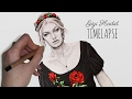 Speed Drawing: Gigi Hadid