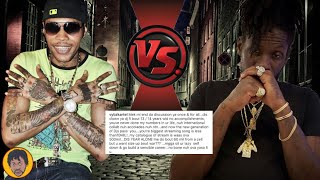 BREAKING NEWS   Vybz Kartel PUT Aidonia In His Place On Instagram
