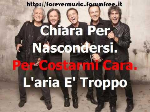 Pooh Ft Riccardo Fogli - Chi fermera' la musica (cori) - KARAOKE