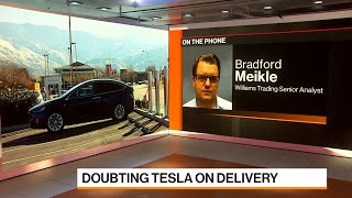 Tesla Won't Profit From Growth of Electric Vehicles, Analyst Meikle Says
