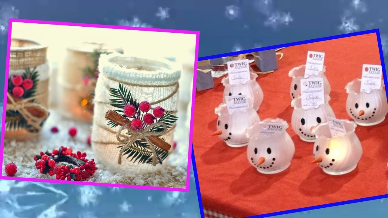 Diy Snowy Mason Jar Crafts To Make And Sell Youtube