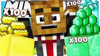 IS THIS THIS THE BEST ROUND OF GOLD RUSH WE HAVE EVER HAD?! - Modded Minecraft Minigame