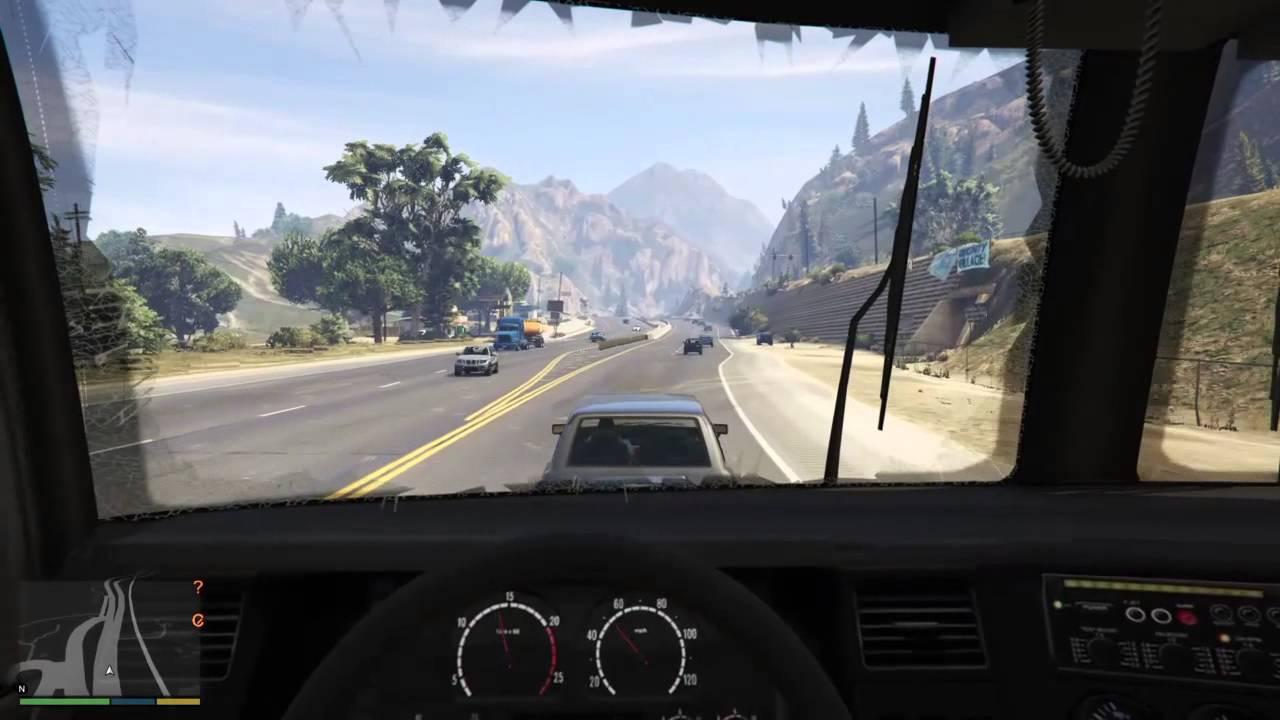 gtav truck simulator ps4 gameplay youtube. Black Bedroom Furniture Sets. Home Design Ideas