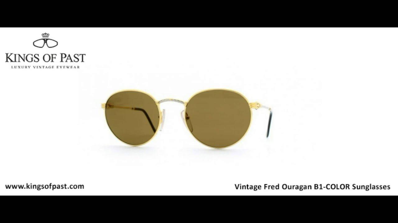 3f2fabda2b Vintage Fred Ouragan B1COLOR Sunglasses - YouTube