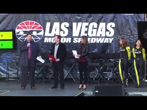 LVMS FanFest 2015 at Fremont Street Experience