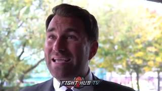 EDDIE HEARN - 'BILLIE JOE SAUNDERS CORRECT TO BE STRIPPED OF WBO TITLE ! '