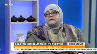 Ülke TV - Candan Hundemir Bel Fıtığı, Bel Kayması ve Dar Kanal Hastası İnci Hanım'la Birlikte