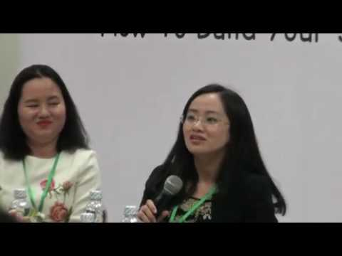 """Panel Discussion """"How to build your successful career and lead the life you want"""", Part 2"""
