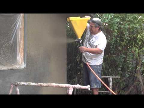 Stucco Sprayer EZ Tex SprayAll