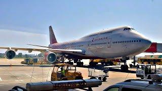 Летим на Гиганте Boeing 747-400 Авиакомпания Россия. Июль 2021. Полет на самолете.