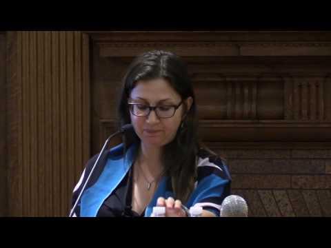 Susan Bernofsky speaks at the 2016 William H. Gass Symposium
