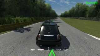 Assetto Corsa - Abarth 500 Gameplay HD
