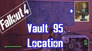 fallout 4 vault 95 location big guns bobblehead vault walkthrough