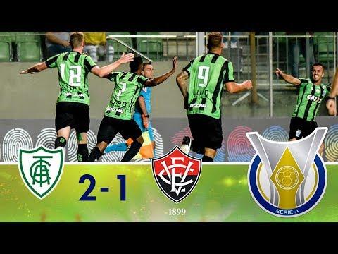 Melhores Momentos - América-MG 2 x 1 Vitória - Campeonato Brasileiro - (30/04/2018)
