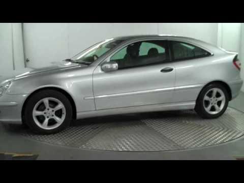 Mercedes benz c class coupe c180 kompressor youtube for Mercedes benz c230 kompressor 2006